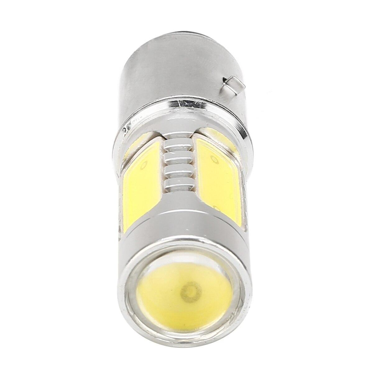 Image 3 - Mayitr 1 шт. BA20D H6 4 COB Светодиодный фонарь для мотоцикла алюминиевый белый Головной фонарь 7,5 Вт лампа для мопеда скутера ATV внедорожный