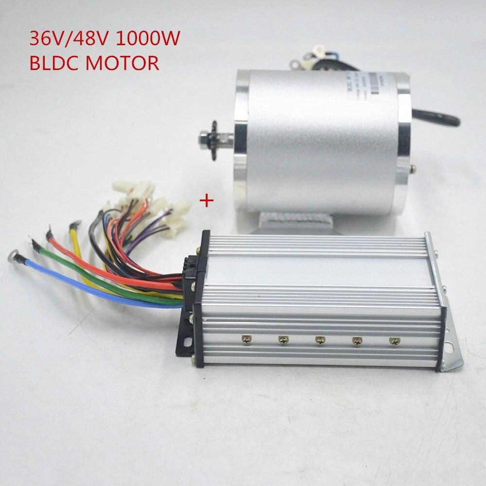 36 V/48 V 1000W Elektrische fahrrad Motor High Speed Mitte Antrieb Conversion Kit für Roller elektrische roller ebike dreirad