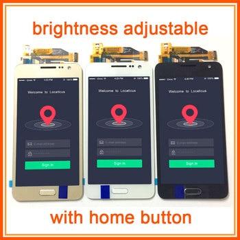 Brightnes Verstelbare Voor Samsung Galaxy A3 2015 A300 SM A300F A300M A300FN Lcd-scherm Monitor + Touch Screen Digitizer Vergadering