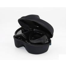Telesin media mascarilla gafas submarinismo scuba snorkel con de montaje para gopro hero 5 4 3 + 3 2 1, xiaomi yi cámara de acción