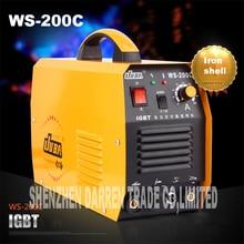 new portable WS-200C IGBT inverter TIG welder argon welder welding argon arc welding machine soldering iron