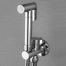 Абсолютно латунный кран для биде, Ручной Биде Душ биде опрыскиватель, torneira lavabo, туалет кран BD288
