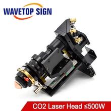 WaveTopSign karışık CO2 lazer kesim kafası 500W odak lensi 25*63.5 25*101.6mm yansıtıcı ayna 30*3mm Metal olmayan Metal hibrid otomatik odaklama