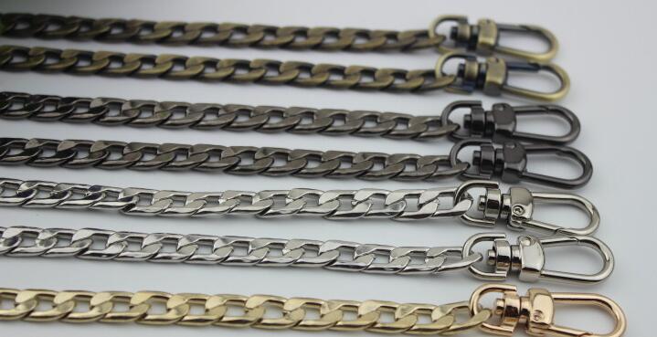Hardware Ketten Hell 2 Teile/los Diy Tasche Zubehör Metall Flache Tasche Kette Kette Metallkette Gepäck Hardware Zubehör 120 Cm Freigabepreis