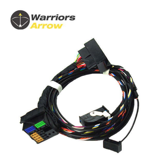 1K8035730D For VW RNS510 9W2 9W7 9ZZ Car Radio Bluetooth Module Direct Plug  Wireless Microphne Harness Cable