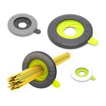 Пластиковые инструменты для спагетти от 1 до 4 человек, регулируемые инструменты для пасты, измерительные инструменты для лапши, селектор, ограничитель объема, диспенсер