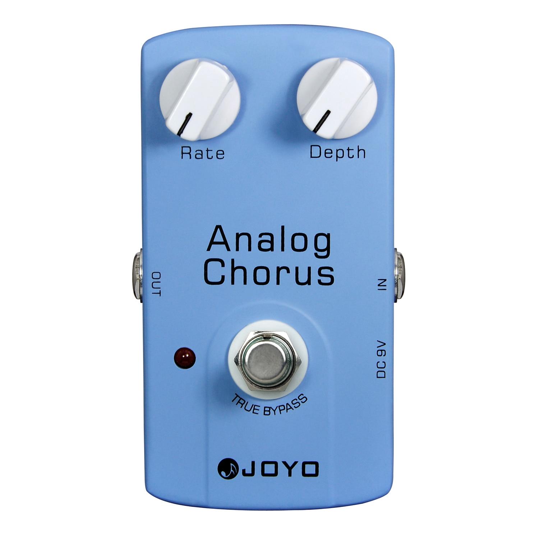 JOYO Analog Chorus Electric Guitar Effect Pedal True Bypass JF-37  JF 37 focal chorus 714 rosewood