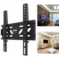 Universal Durable TV Wall Mount Bracket Fixed Flat Panel TV Frame With Level Standard For 10