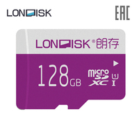 Memory card LONDISK EXTREME U1 128 GB 64 GB 32 GB 16 GB 8 GB (without adapter)