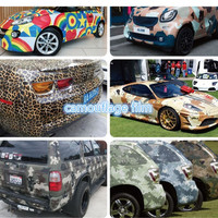 Camouflage Film for Cars Urban Camo Vinyl Wrap Automobile camouflage 154*15cm/roll car body film