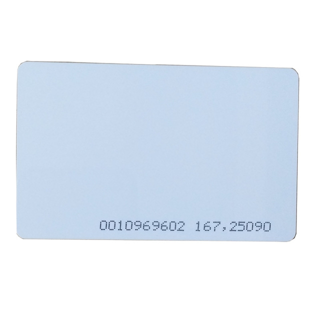 winfeng 10pcs/lot rfid card 125khz TK4100 blank smart card EM4100 ID pvc card with UID series number for access control system
