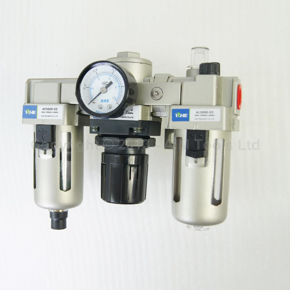 Industrial Air Filter Moisture Water Trap Pneumatic Tools Oil Lubricator AC3000-03 ac3000 series air filter combinations f r l combination ac3000 02 g1 4