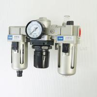Industrielle Luftfilter Feuchtigkeit Wasserfalle Pneumatische Werkzeuge Öl Öler AC3000-03