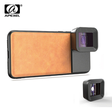APEXEL Anamorphic Lens 1.33x Wide Screen Video Widescreen Slr Movie Mobile Phone for iPhone Huawei Samsung smartphones