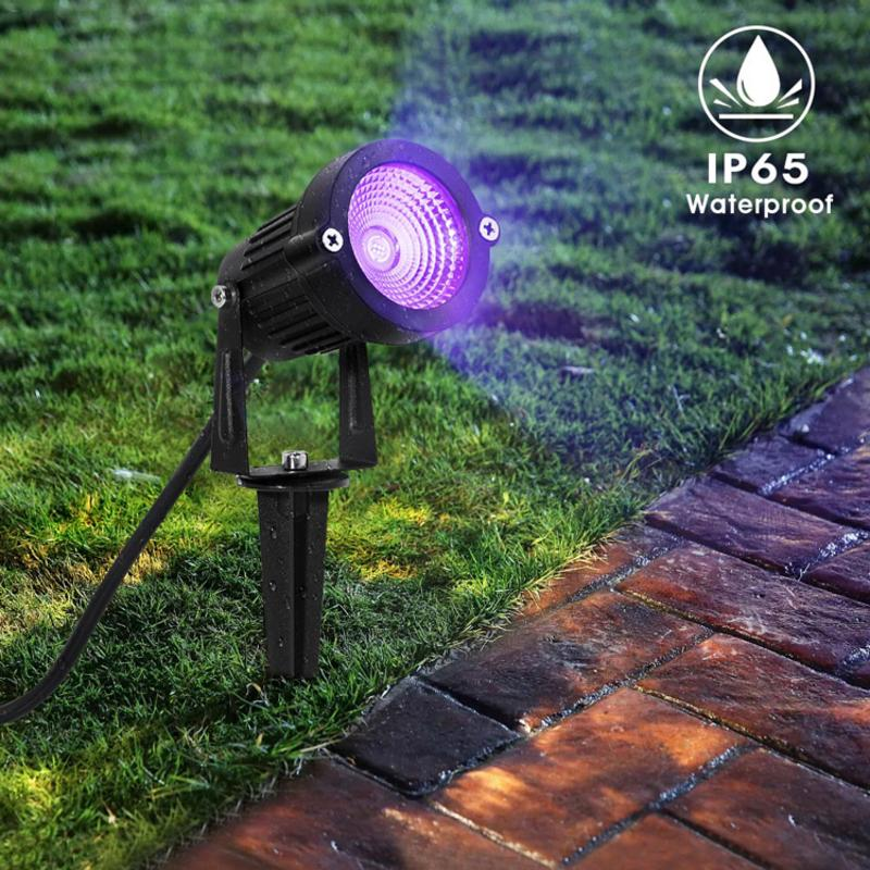 Kaigelin Garden UV Light LED COB 10W IP65 Outdoor Lawn 14 High Quality LED Lamp AC 95-265V UV Lamp For Garden Lawn DecorationKaigelin Garden UV Light LED COB 10W IP65 Outdoor Lawn 14 High Quality LED Lamp AC 95-265V UV Lamp For Garden Lawn Decoration