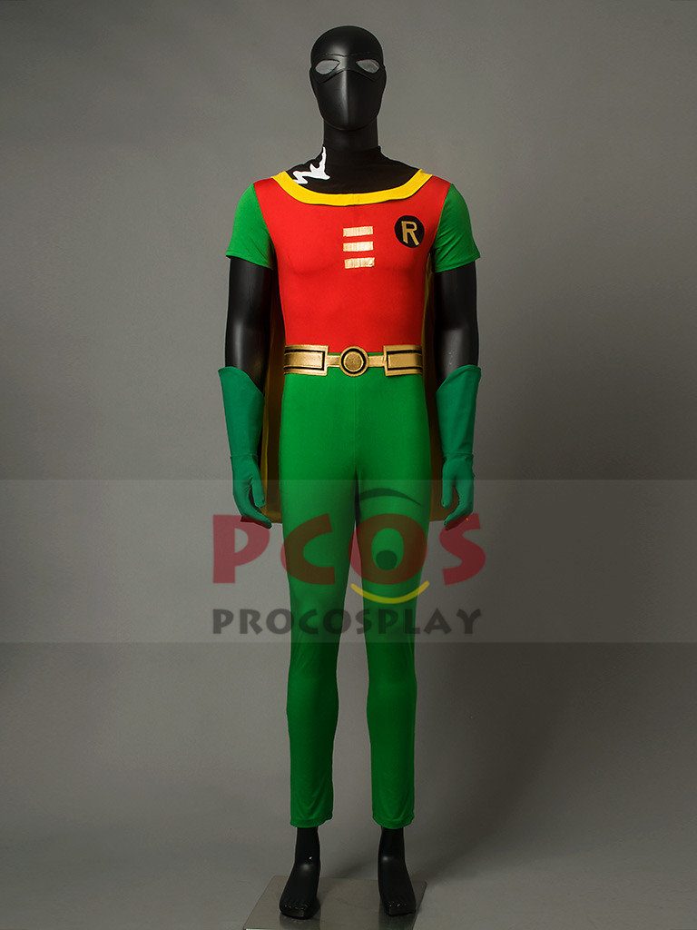 Teen Titans Robin Comic Version Cosplay Costume Tight suit mp003140