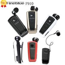 Fineblue f910 conductor estilo de auriculares estéreo bluetooth headset auriculares auriculares con micrófono vibración para teléfonos fone de ouvido