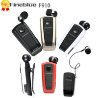 Fineblue F910 Stereo Bluetooth Headset Driver Style Auriculares Earphone Vibration Headphones With MIC For Phones Fone