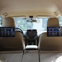 Android 6,0 Bluetooth подголовник dvd плеер с беспроводными наушниками монитор телевизора в автомобиль для Ford Fiesta авто lcd экран 11,8 дюймов 2 шт