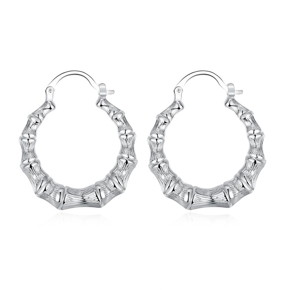 Online Get Cheap Silver Bamboo Earrings Aliexpress Alibaba