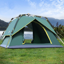 3-4 Person 230*230*145cm Camping Tents Waterproof Automatic Double Layers Hiking Climbing Outdoor with Carry Bags Online