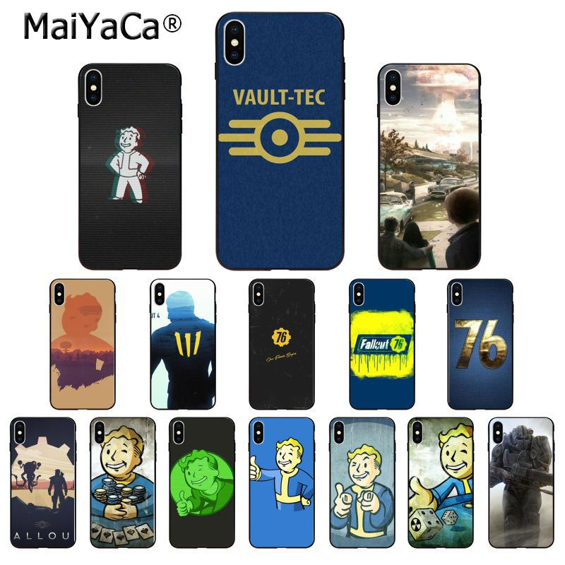Maiyaca Fallout Diy Printing Drawing Phone Case Cover Shell For Iphone X Xs Max 6 6s 7 7plus 8 8plus 5 5s Xr