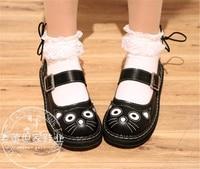 4 Colour Japanse Lolita Schoenen Kat Retro Ronde Neus Prinses Vrouw Meisje Cos Cosplay Schoenen