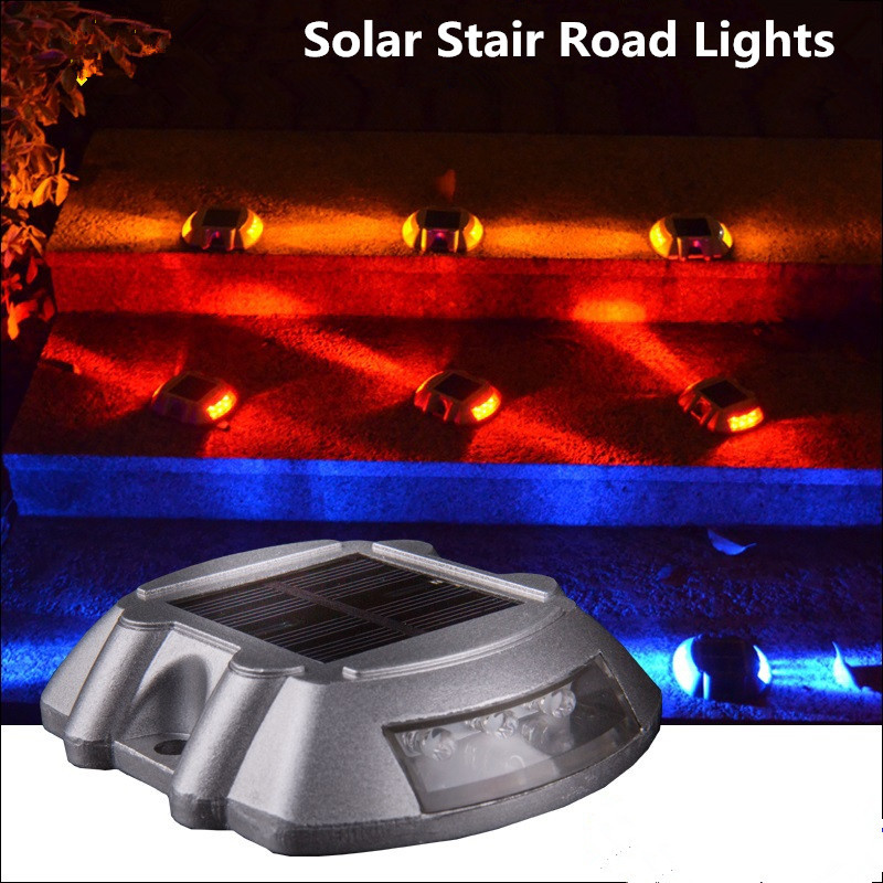 10x path driveway pathway solar deck light led security road stud 10x path driveway pathway solar deck light led security road stud marker 500m visible distance solar step traffic garden light in solar lamps from lights mozeypictures Image collections