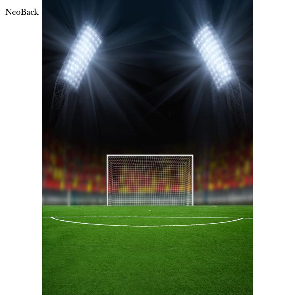 NeoBack 5x7ft Thin Vinyl Football Soccer Sport Event Photo ... Soccer Backgrounds For Photography