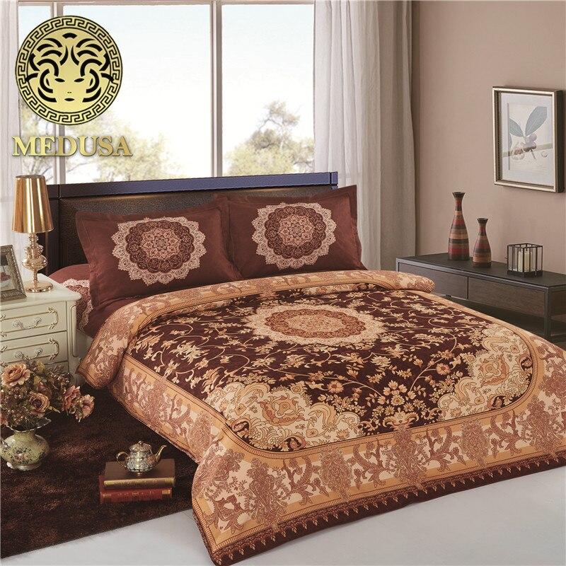 Inde Boho l'enfer yoga ensemble de literie housse de couette drap de lit taies d'oreiller reine taille, couverture de lit réversible correspondant salle de yoga