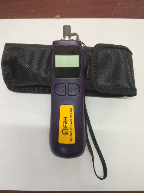 Free Shipping Broadcast Television -50~+26dBm FHP12B Handheld Mini Fiber Optical Power Meter