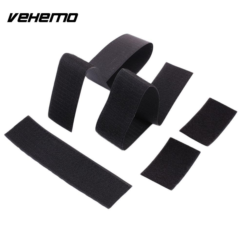 VEHEMO Fixed Strap Car Auto Trunk Organiser Fasten Bandage Mount Magic Tape Tie 59CM