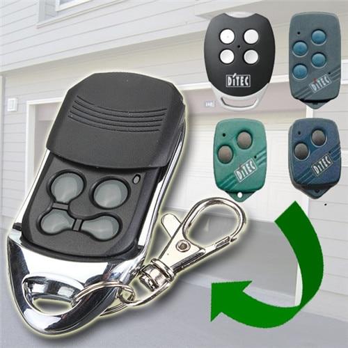 Compatible garaje puerta Control remoto para ditec gol4 bixlg4 bixlp2 y bixls2