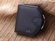 lady purse Mini Leather Wallet  Handbag Purse female zipper buckle