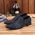 Christia Bella Fashion Italian Genuine Leather Formal Men Dress Shoes Pointed Toe Men Loafers Designer Wedding Shoes Men Flats