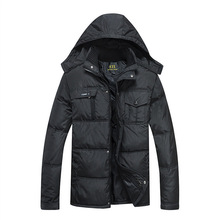 2016 New Fashion Winter Men Thickening Casual Cotton Jacket Outdoors Waterproof Windproof Breathable Coat parkas
