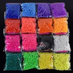 2019 Горячие Diy игрушки браслет из резиновых полос для детей или волос Резиновые ткацкие ленты заправка резиновый ремешок сделать тканый