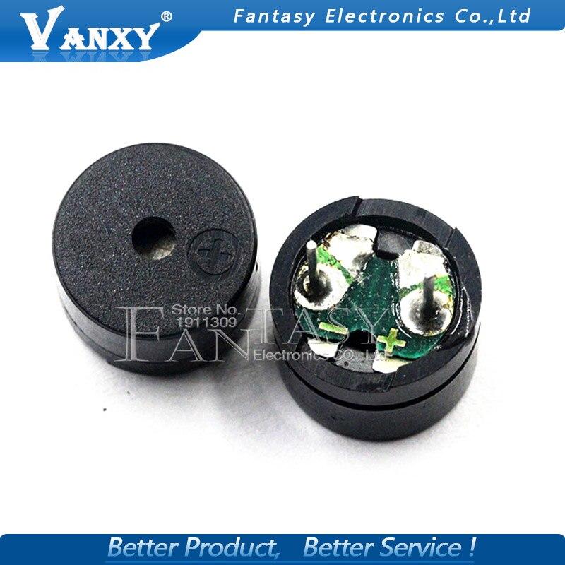 10pcs Universal Passive Buzzer 12805 AC / 2KHz 3V 5V 12V Universal Electromagnetic Impedance 16 Ohms