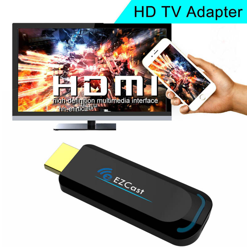 EZcast Smart TV HDMI Dongle 1080P Video to TV Wireless WiFi Adapter For iphone 7 8 plus  ...