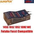 Cooltech R7008HV Futaba Совместимость с FASST (технологией стандартных систем с гибкой архитектурой) 8-13ch приемник для 14SG 16SG 16SZ 18SZ 18MZ WC r7008sb TFR8sb многорежим...