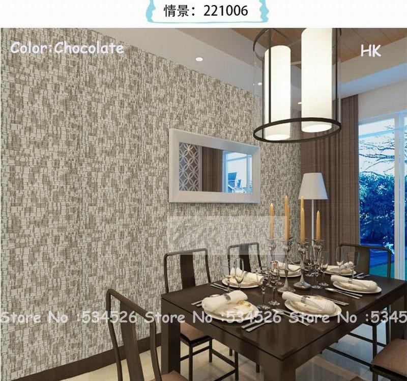confronta i prezzi su natural textured wallpaper - shopping online ... - Sala Da Pranzo Contemporanea Con Strutturata Beige Grasscloth Carta Da Parati
