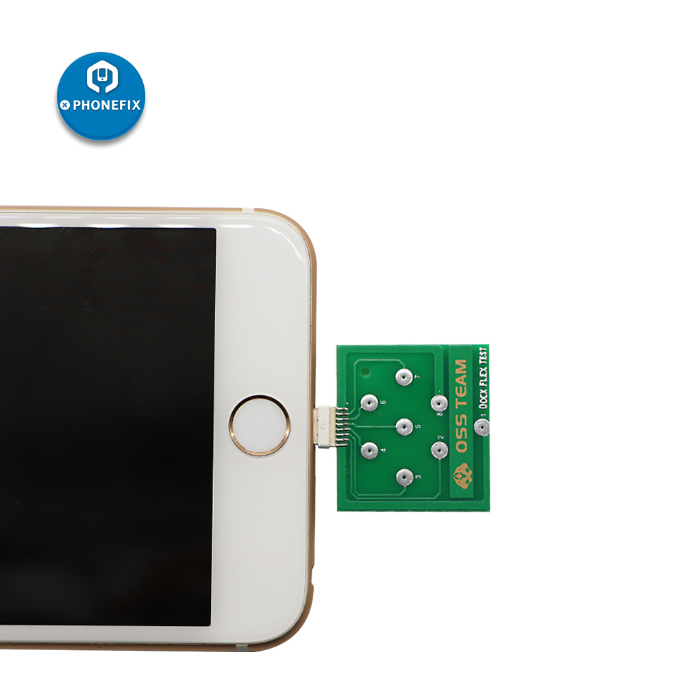 Micro Dock Flex Test Board Testing For U2 IC Battery Bad Or Good USB Charging Port Diagnostic Tool For IPhone / Android Phone