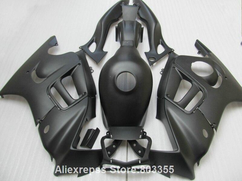 Fairings for HONDA CBR 600 F3 1996 1995 cbr 600 ( Matte black ) fairing kit 95 96 xl42