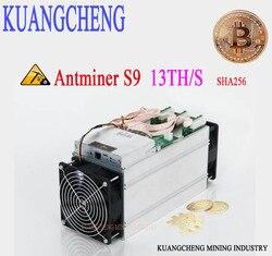 85 ~ 95% neue alte Freie lieferung KUANGCHENG AntMine S9 13T 16nm Btc Miner Asic Miner Btc Miner Bitcoin bergbau Maschine