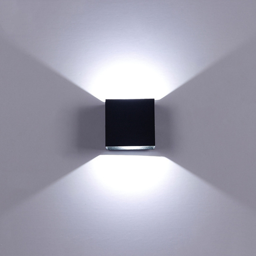 6w Wall Sconce LED Up Down Wall Light Aluminum Wall Lamp AC110V AC220V Indoor Wall Lighting For Bedroom Living Corridor ML06