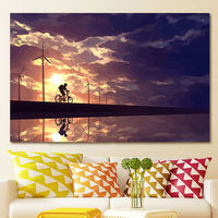 Diy Oil Painting Beautiful Setting Sun Digital Paint By Numbers Wall Art Diy Digital Painting Home