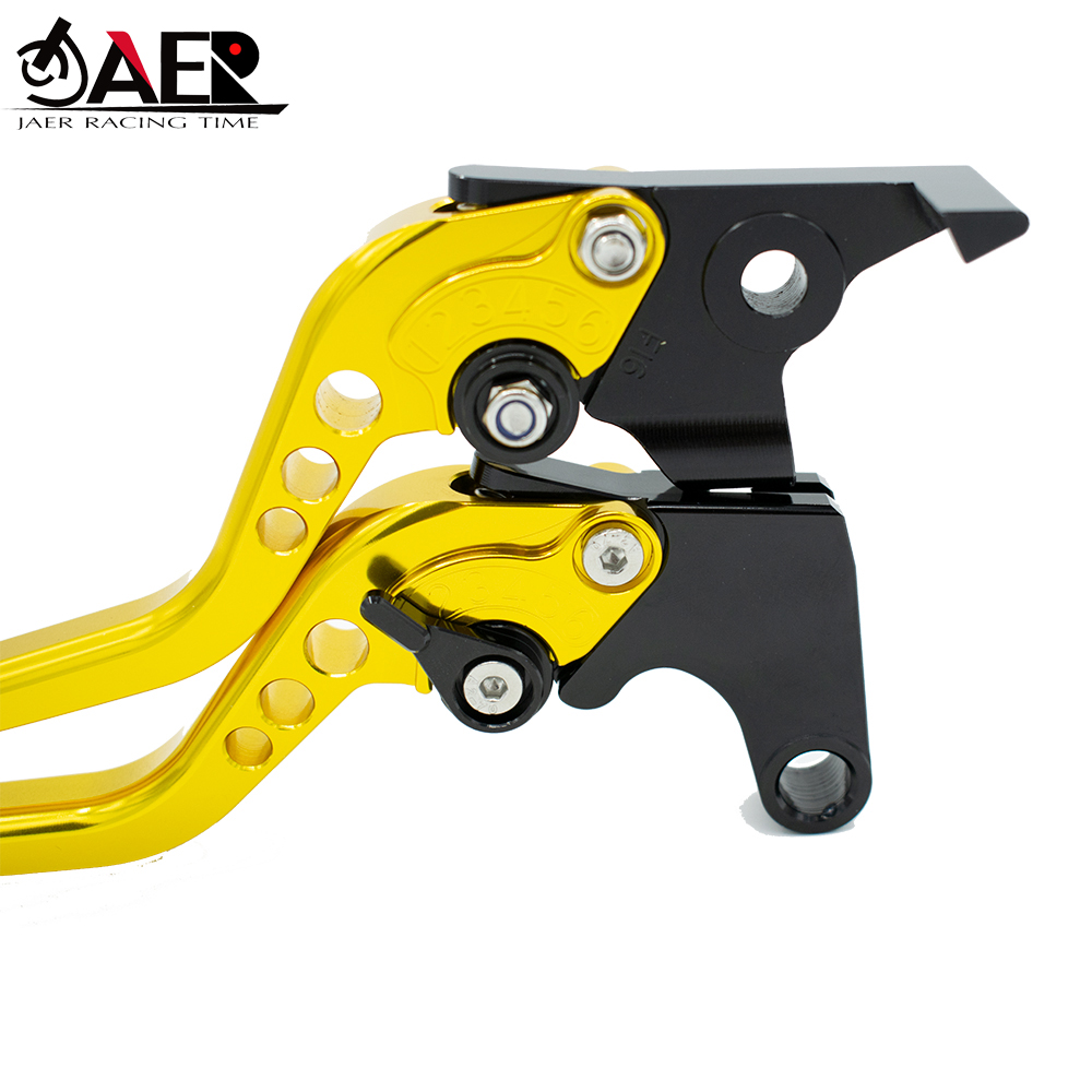 JEAR Adjustable Motorcycles Brake Clutch Levers For Yamaha T max 500 Tmax500 2008 2009 2010 2011 in Levers Ropes Cables from Automobiles Motorcycles