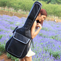 Good quality Professional protable 41 acoustic bass guitar case folk balladry padded soft gig bag backpack cover concerts bolsa
