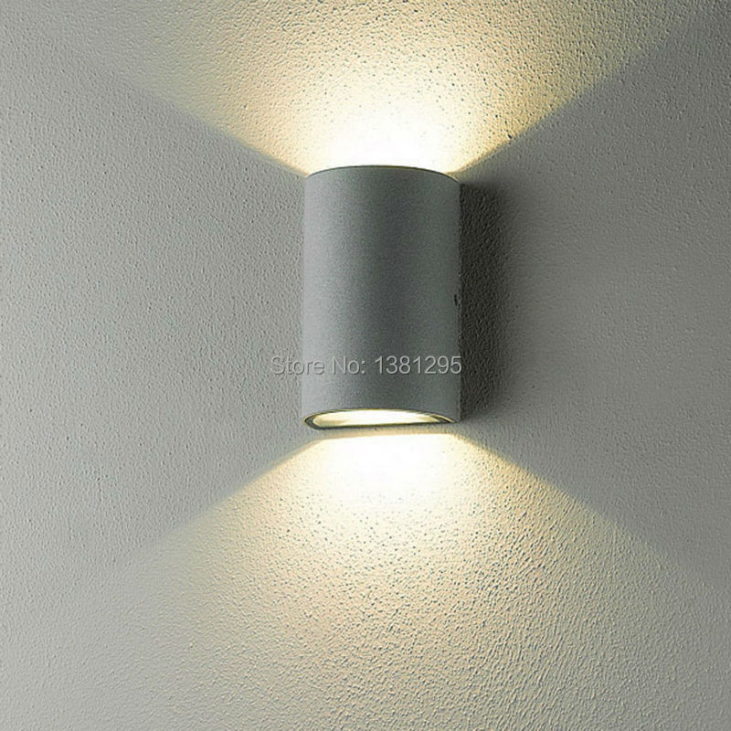 Modern Outdoor Lighting Wall Lamp Exterior Porch Lighting LED Wall Light  Waterproof Up And Down Garden Wall Sconce Lights IP54
