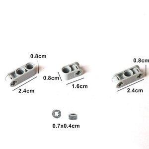 Image 5 - 540PCS 대량 빌딩 블록 벽돌 MOC 장난감 기술 Liftarm 빔 액슬 핀 커넥터 교체 부품 레고 기술과 호환 가능